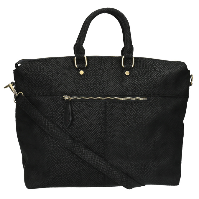 Černá dámská kabelka bata, černá, 969-6622 - 26