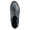 Dámská kotníčková obuv bata, modrá, 591-9616 - 19