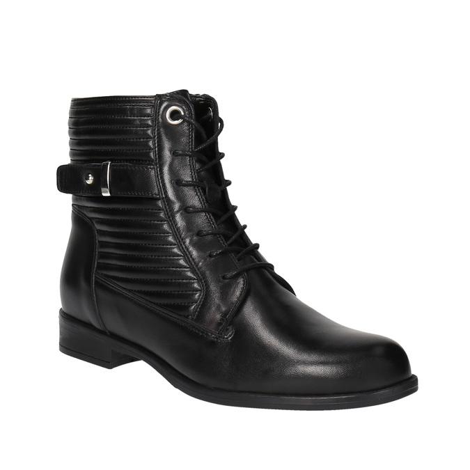 Dámská kotníčková obuv bata, černá, 594-6617 - 13