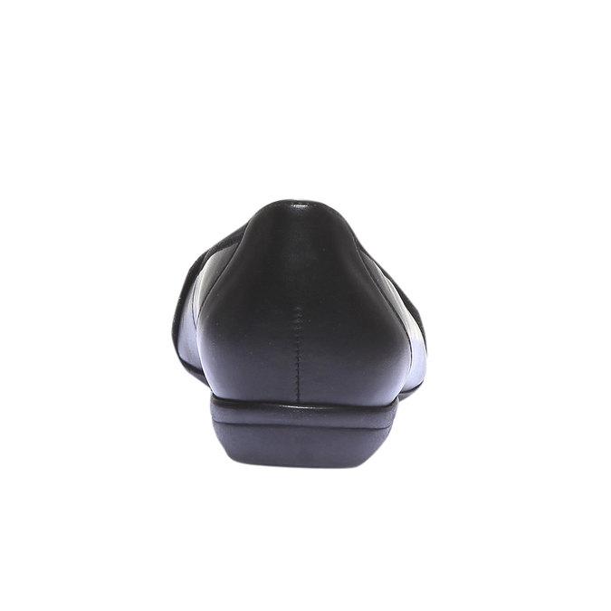 Kožené baleríny gabor, černá, 524-6456 - 17