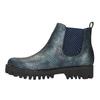 Dámská kotníčková obuv bata, modrá, 591-9616 - 26