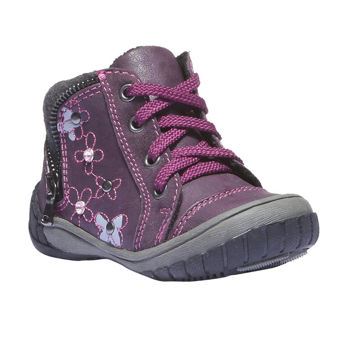 Kids shoes mini-b, fialová, 121-9101 - 13