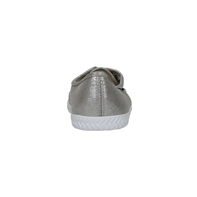 Dámské stříbrné tenisky bata, stříbrná, 519-1690 - 17