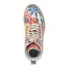 Kožená kotníčková obuv s barevným květinovým vzorem weinbrenner, 596-2640 - 19