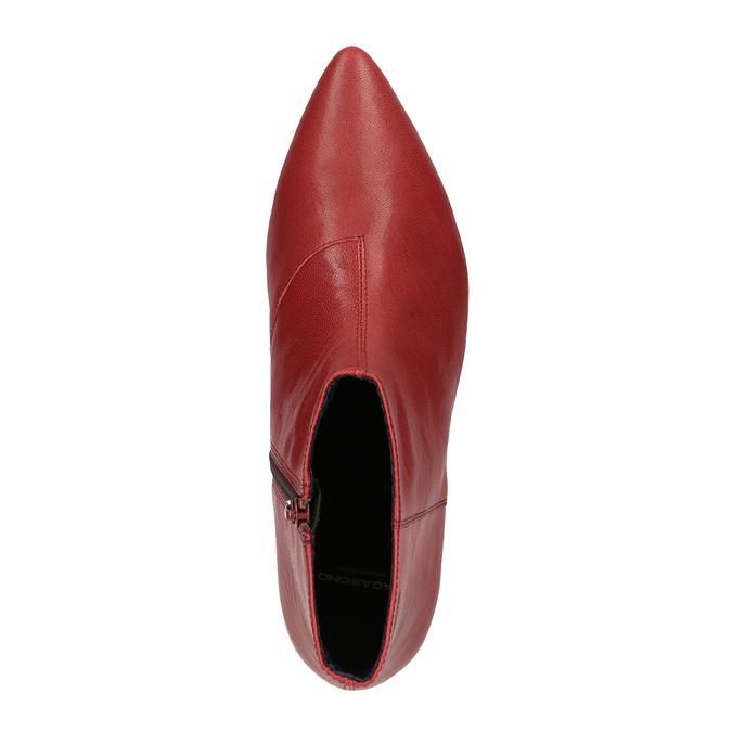 Dámská kotníčková obuv vagabond, červená, 514-5010 - 19