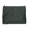 Menší kožená kabelka s řetízkem vagabond, zelená, 964-7005 - 26