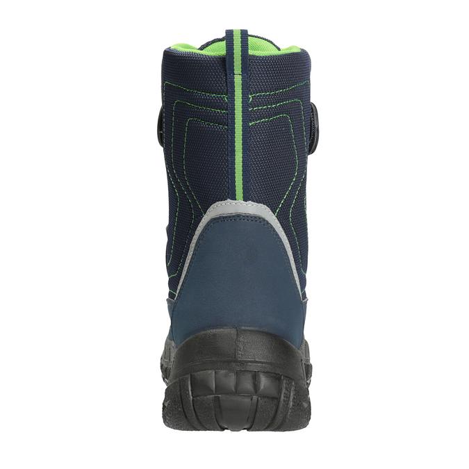 Dětská zimní obuv na suché zipy richter, modrá, 429-9001 - 17