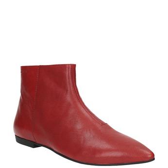 Dámská kotníčková obuv vagabond, červená, 514-5010 - 13
