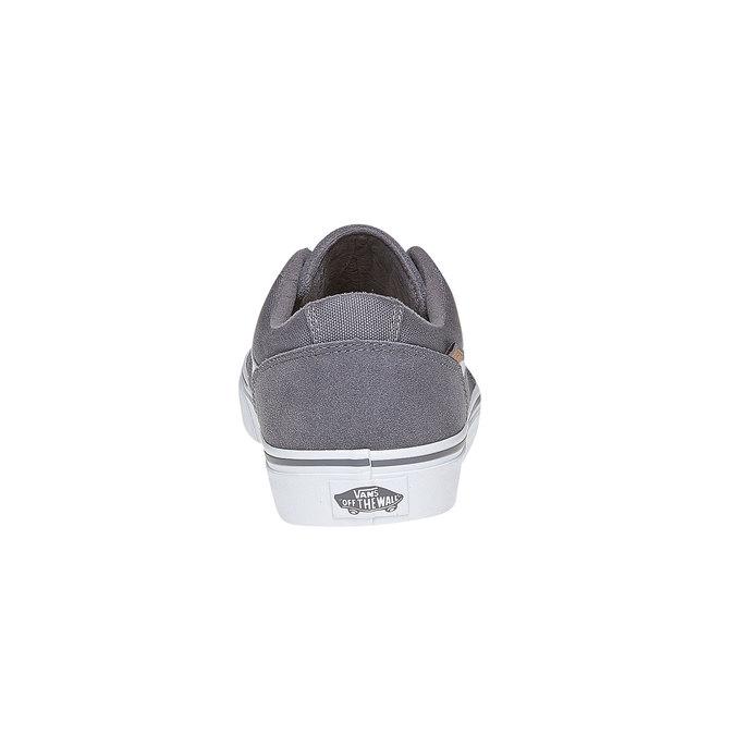 Pánské kožené tenisky vans, šedá, 803-2303 - 17