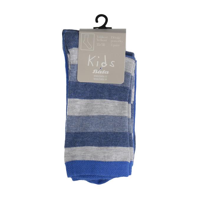 Dětské barevné ponožky 3 páry bata, 919-0595 - 13