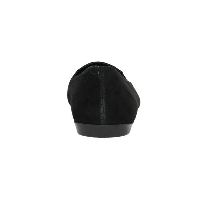 Dámské kožené baleríny vagabond, černá, 516-6002 - 17