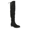 Dámské kozačky nad kolena bata, černá, 599-6608 - 13