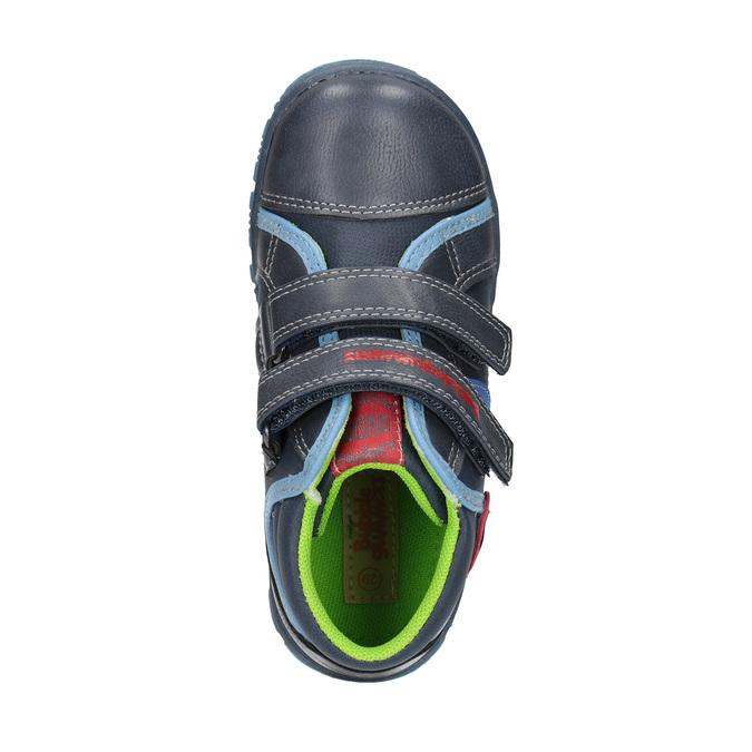 Dětská kotníčková obuv mini-b, modrá, 211-9605 - 19