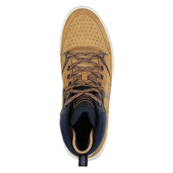 Pánská kotníčková obuv le-coq-sportif, hnědá, 803-3567 - 19