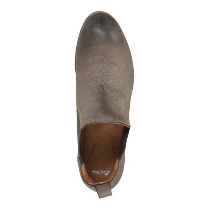 Kožené Chelsea Boots bata, hnědá, 596-4641 - 19