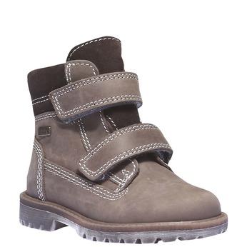 Dětská kožená obuv richter, hnědá, 396-8003 - 13