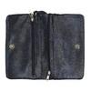 Dámské psaníčko s páskem na zápěstí bata, modrá, 961-9668 - 15