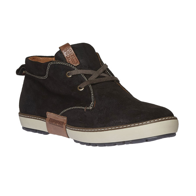 Leather Sneakers napapijri, hnědá, 893-4008 - 13