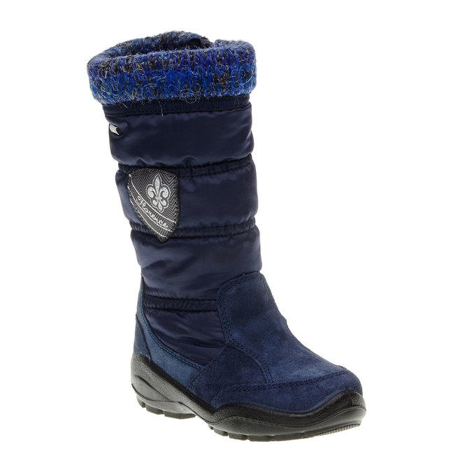 Dívčí zimní obuv mini-b, modrá, 299-9151 - 13
