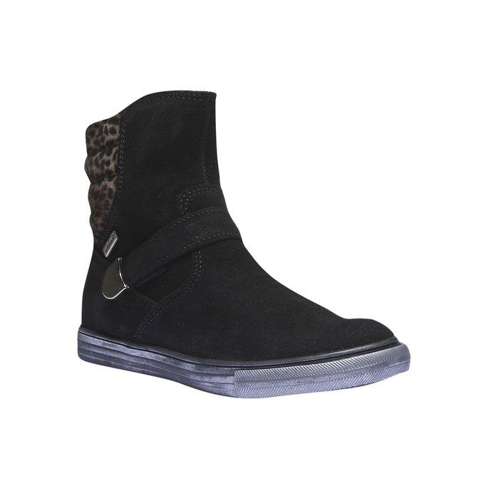 Dívčí kotníčková obuv richter, černá, 393-6003 - 13