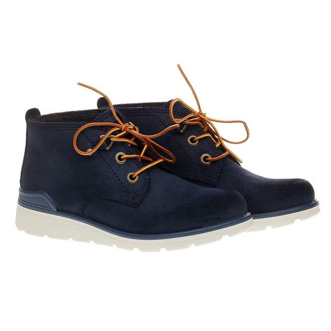 Kotníčková obuv ecco, modrá, 493-9002 - 26