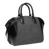 Dámská kabelka s pevnými uchy bata, černá, 969-6630 - 13