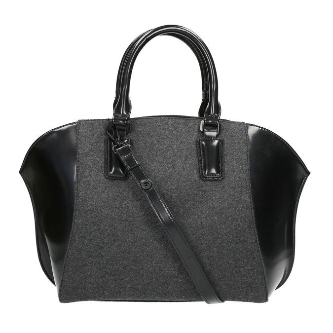 Dámská kabelka s pevnými uchy bata, černá, 969-6630 - 19