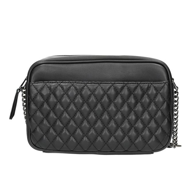 Dámská Crossbody kabelka s prošíváním bata, černá, 961-6158 - 26
