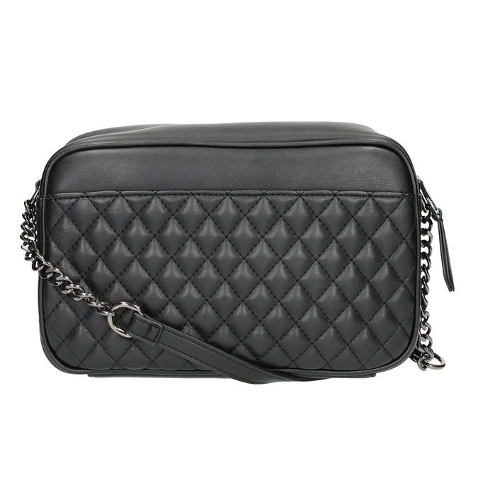 Dámská Crossbody kabelka s prošíváním bata, černá, 961-6158 - 19