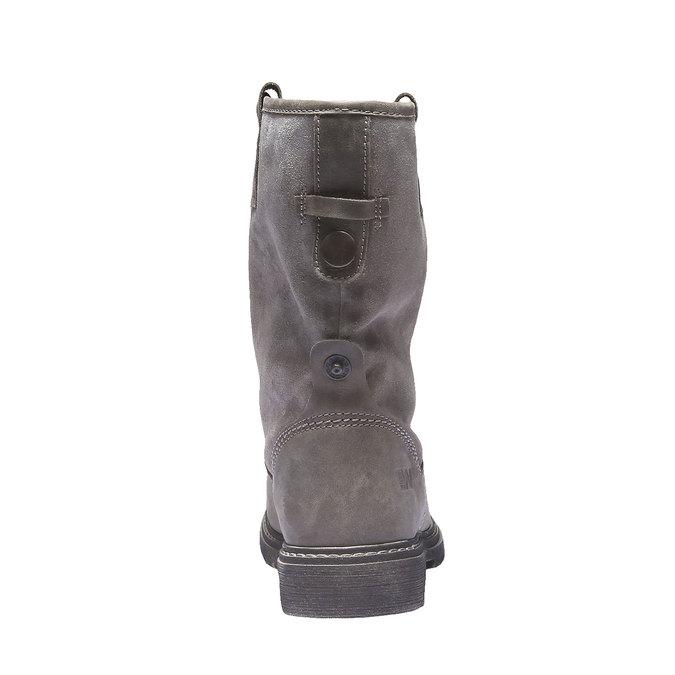 Kožená obuv s protiskluzovou podešví weinbrenner, hnědá, 596-3100 - 17