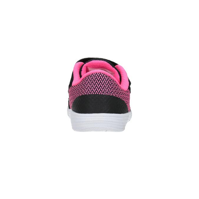 Dětské módní tenisky nike, černá, 109-6322 - 17