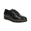 Ležérní kožené dámské polobotky bata, černá, 526-6613 - 13