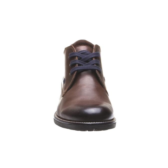 Ankle Boots bata, hnědá, 894-4661 - 16