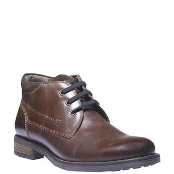 Ankle Boots bata, hnědá, 894-4661 - 13