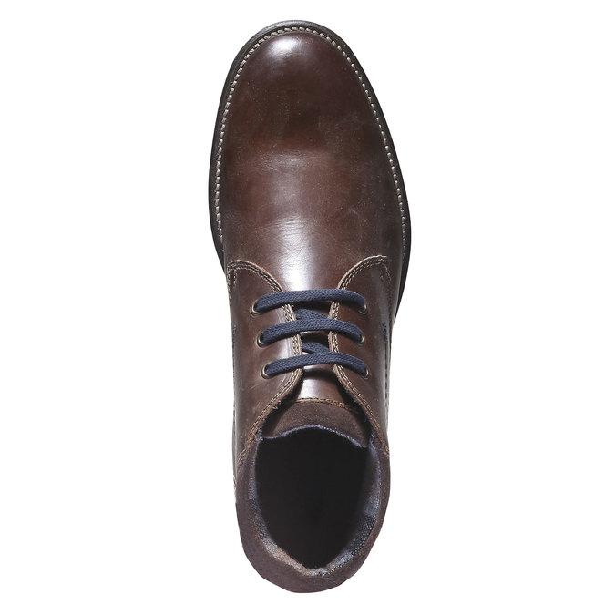 Ankle Boots bata, hnědá, 894-4661 - 19