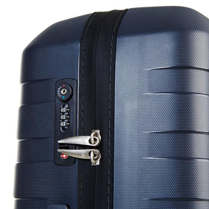 Skořepinový kufr na kolečkách roncato, modrá, 960-2604 - 17