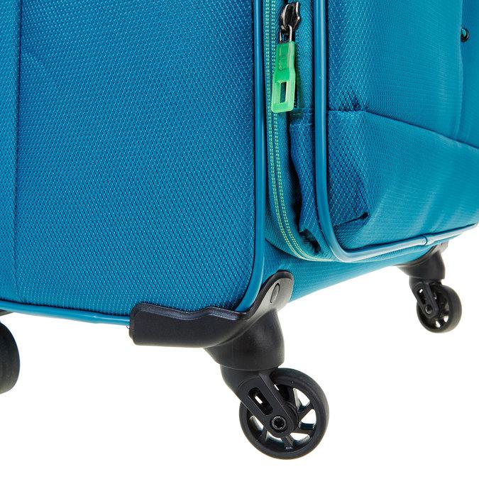 Modrý cestovní kufr roncato, tyrkysová, 969-7636 - 19