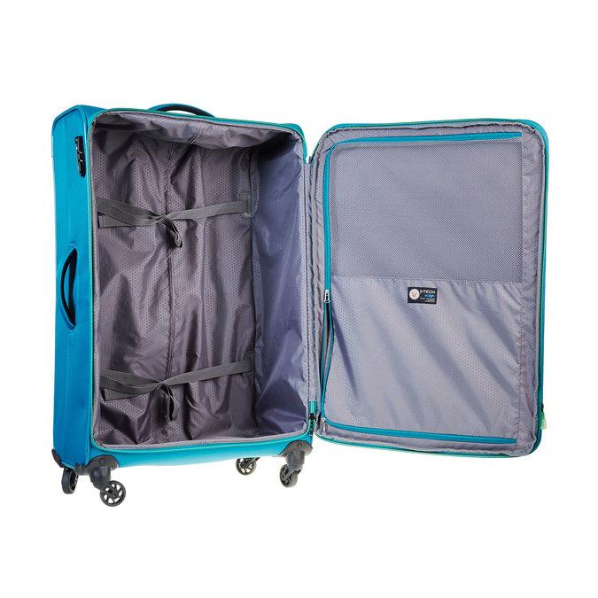 Modrý cestovní kufr roncato, tyrkysová, 969-7636 - 15