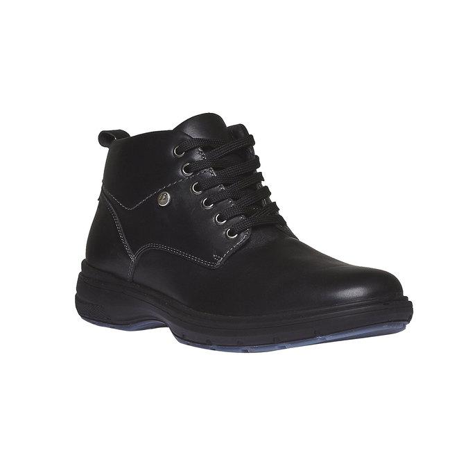 Kožené kotníkové boty bata, černá, 894-6226 - 13