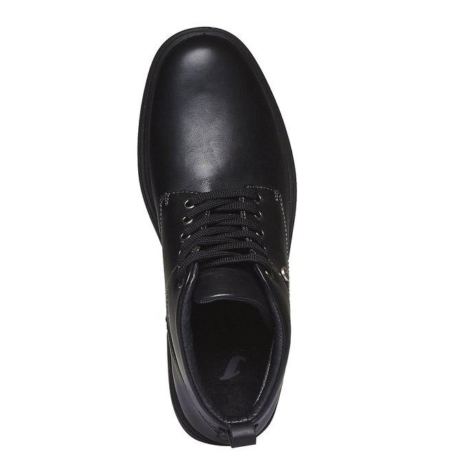 Kožené kotníkové boty bata, černá, 894-6226 - 19