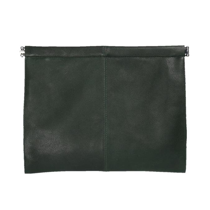 Zelené kožené psaníčko vagabond, zelená, 964-7001 - 26