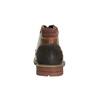 Kožené kotníčkové polobotky bata, hnědá, 894-4646 - 17