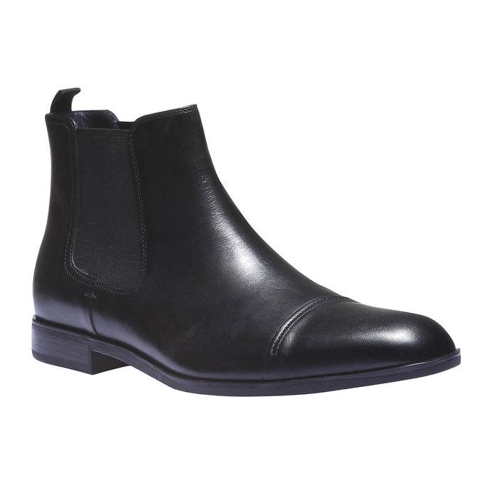 Kožené boty Chelsea bata, černá, 894-6214 - 13