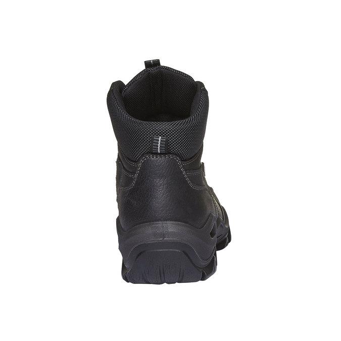 Outdoorové zimní boty ke kotníkům bata, černá, 894-6123 - 17