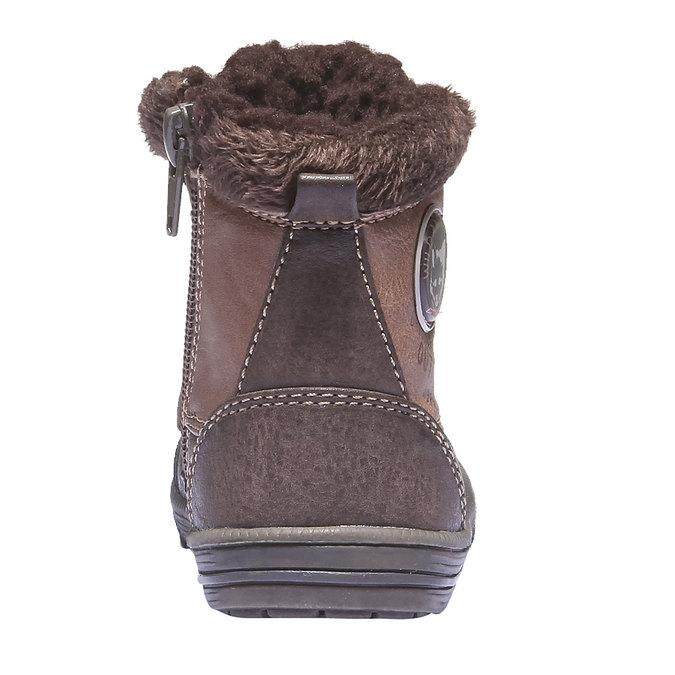 Kids shoes mini-b, hnědá, 191-4100 - 17