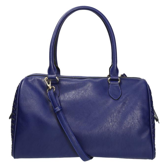 Bowling kabelka s propleteným vzorem bata, modrá, 961-9629 - 26