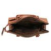 Hnědá elegantní kabelka s pevnými uchy bata, hnědá, 961-3646 - 15