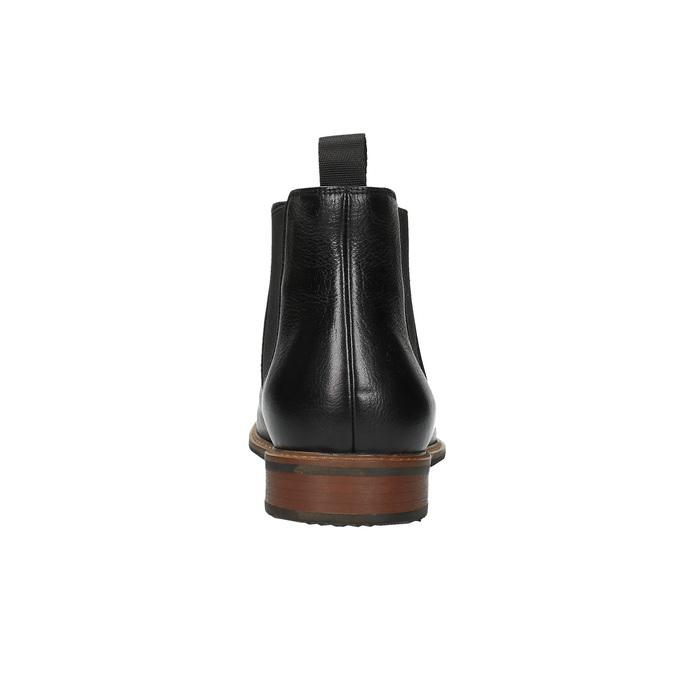 Kožené Chelsea Boots bata, černá, 894-6666 - 17