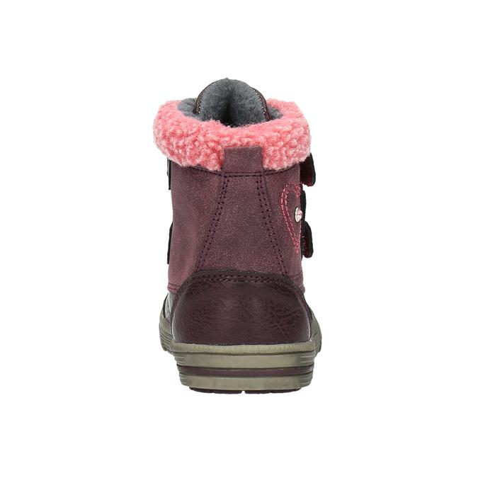Dětská kotníčková obuv bubblegummer, fialová, 191-9614 - 17