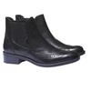 Kotníčková obuv v Chelsea střihu bata, černá, 594-6532 - 26